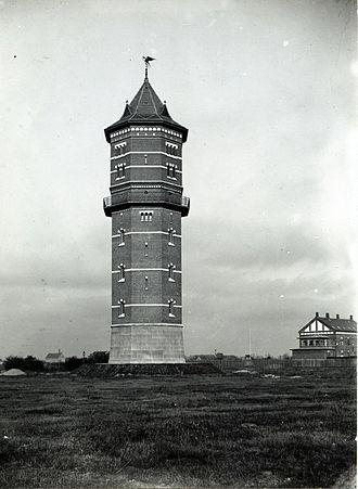 Lergravsparken - Sundby Water Tower in 1902