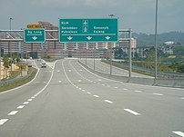 Sungai Long exit, Kajang Dispersial Link Expre...
