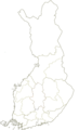 Suomen maakunnat (ennen vuoden 2011 jakoa) (Tyhjä).png