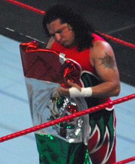 Super Crazy Mexican professional wrestler