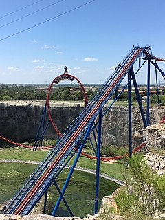 Superman: Krypton Coaster Steel roller coaster
