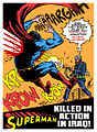 Superman killed in action in Iraq.jpg
