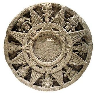 Surya Majapahit - Another render of Surya Majapahit, taken from Majapahit temple ruins, National Museum Jakarta