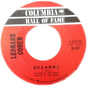 Suzanne by Leonard Cohen Canadian vinyl.png