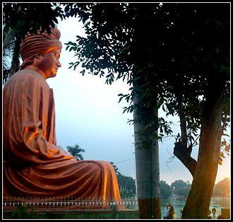 Raipur - Swami Vivekanada's Statue at Vivekanand Sarovar