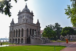 Temple of Swami Vivekananda at Belur Math