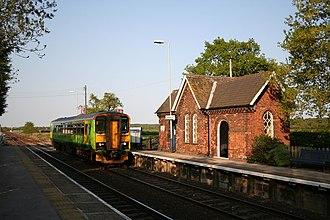 Swinderby railway station - Image: Swinderby Railway Station