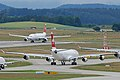 Swiss Airbus A340 and A330.jpg
