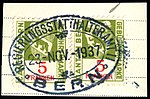 Switzerland Bern 1933 revenue 4 5Fr - 53A fragment.jpg