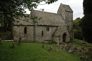 Syde Village in Gloucestershire, England