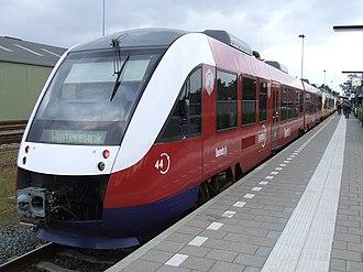 Keolis Nederland - Syntus Twente Alstom Coradia LINT in May 2007