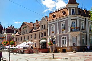 Szczawno-Zdrój Place in Lower Silesian Voivodeship, Poland