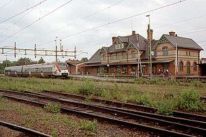 Fagersta - Fagersta railway station