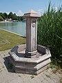 Tófürdő bathing area, well (S) in Gyömrő, Pest County, Hungary.jpg