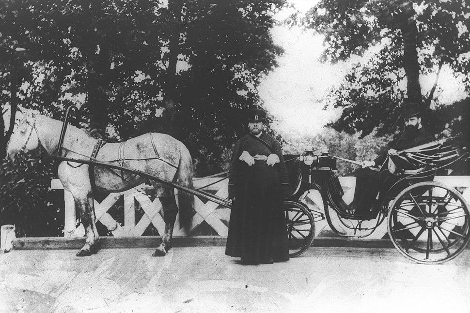 THEODOR HERZL IN ST. PETERSBURG, RUSSIA IN 1903. תאודור הרצל בסנט פטרסבורג, רוסיה - שנת 1903.