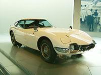 2000 GT var en tidig sportbil i Toyotas sortiment och cabrioletversionen produktplacerades i James Bond-filmen Man lever bara två gånger.