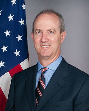 United States Ambassador to Djibouti - Image: TP Kelly III1