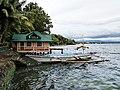 Talisay Green Lake Resort boat (41036925431).jpg