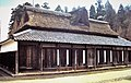 Taniguchi-ke is an old-style, thatched roof rural house used for exhibition of Japanese life for visitors.jpg