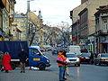 Tarnów, ulica Krakowska, provoz na třídě.JPG