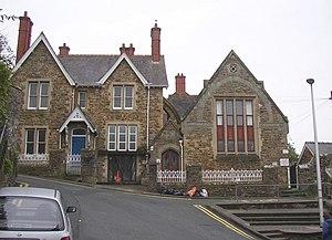 Tasker Milward Voluntary Controlled School - The old building of Tasker's School for Girls, Tower Hill, Haverfordwest.