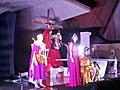 Teatro da Paixão de Cristo 2015 da Paróquia São Sebastião na Catedral de São Sebastião - Crucificação, Coronel Fabriciano MG.JPG