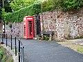 Telephone box, Bishopsteignton - geograph.org.uk - 1370903.jpg