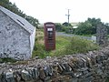 Telephone box at Tresta - geograph.org.uk - 972724.jpg