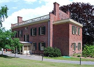 Ten Broeck Mansion - Image: Ten Broeck Mansion Back