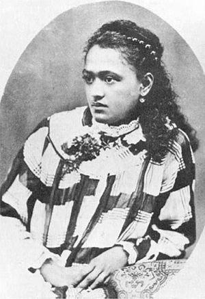 Teriimaevarua III - Image: Terii Maeva Rua, Queen of Bora Bora