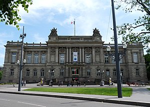 National Theatre of Strasbourg - Front