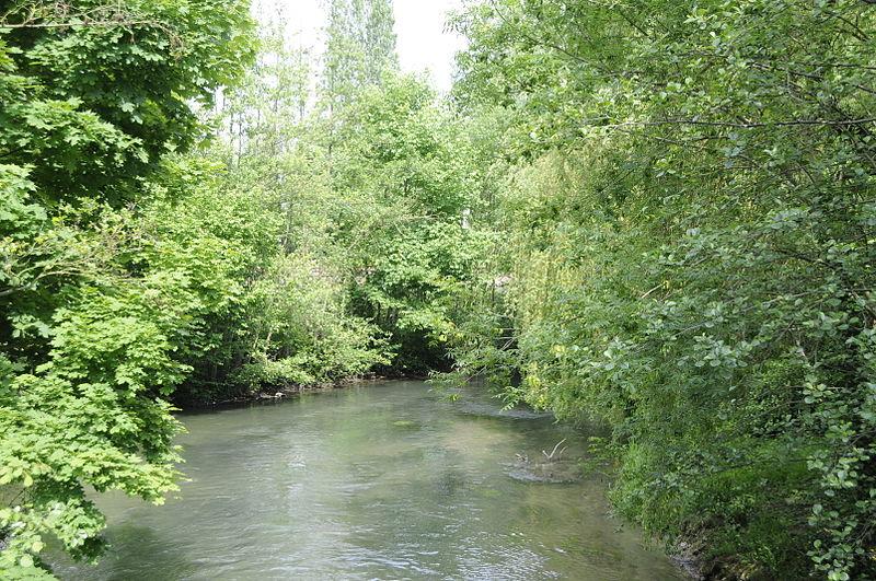 File:Thérain (vue du pont, rue de Wagicourt).jpg