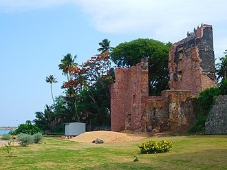 St Thomas Fort, Tangasseri - Front View of St Thomas Fort