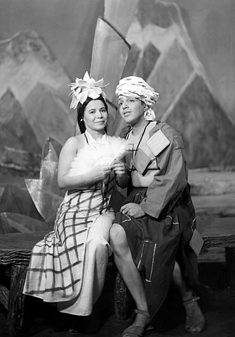 The Swing Mikado - Frankye Brown (Yum-Yum) and Maurice Cooper (Nanki-Poo), Chicago (1938)