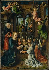 The Adoration of the Christ Child
