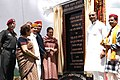 The Chairperson, National Advisory Council, Smt. Sonia Gandhi laid the foundation stone for the Rohtang Tunnel Project, in Manali, Himachal Pradesh on June 28, 2010.jpg