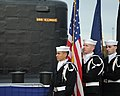 The Color Guard stands ready to parade the colors during the commissioning ceremony of USS Illinois (SSN 786) (30559597231).jpg