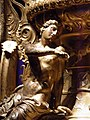 The Derveni krater, late 4th century B.C., a youthful Dionysus seating on the shoulder of the vase, Archaeological Museum, Thessaloniki, Greece (7457830886).jpg