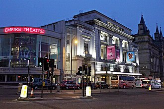 The Beatles' 1965 UK tour - The Liverpool Empire – the venue for the Beatles' final concert in their former hometown