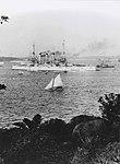 The Great White Fleet in Sydney Harbour 1908 (7126381051).jpg