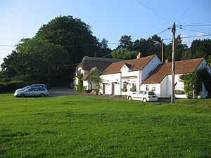 East Knoyle - Image: The Green geograph.org.uk 458205