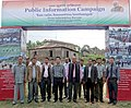 The Lai Autonomous District Council (LADC) Chief Executive Member (CEM), Shri V.Zirsanga inaugurated the Public Information Campaign, at Bungtlang South Village, Lawngtlai District, Mizoram on November 14, 2014.jpg