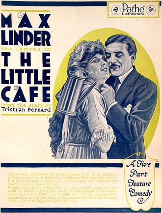The Little Cafe (1919 film) - Ad for the 1920 American release