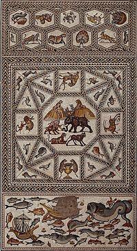 The Lod Mosaic, Israel Antiquities Authority.jpg