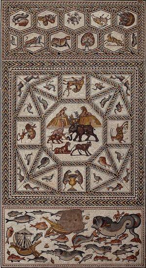 Lod Mosaic Archaeological Center - The Lod Mosaic