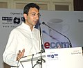 The Minister of State for Steel, Shri Jitin Prasada addressing at a seminar on e-commerce, its future growth and emerging trends and opportunities, in New Delhi on June 26, 2008.jpg