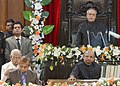 The President, Shri Pranab Mukherjee addressing at the Valedictory Ceremony of the Platinum Jubilee Celebrations of West Bengal Legislative Assembly, in Kolkata on December 06, 2013.jpg
