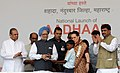 The Prime Minister, Dr. Manmohan Singh launches the Aadhaar Number under Unique Identification Authority of India, at Tembhli village, Nandurbar, Maharashtra on September 29, 2010.jpg