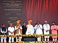 The Prime Minister, Shri Narendra Modi inaugurating the Anand Agricultural University's Incubation Centre cum Centre of Excellence in Food Processing, at Anand, Gujarat.JPG