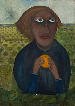 Lette Valeska - The Promised Land self-portrait by Lette Valeska, date unknown.